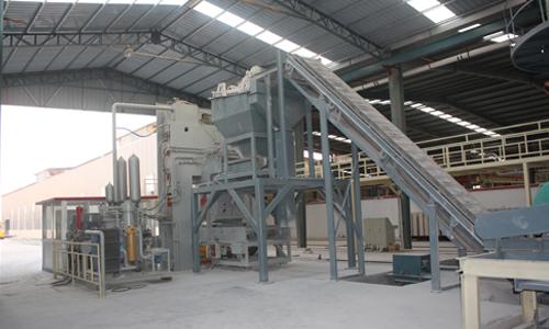 东岳灰砂砖生产线厂房